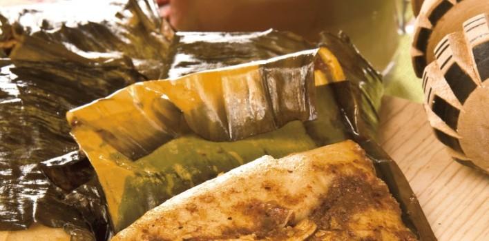 Receta Tamales Oaxaqueños de Mole