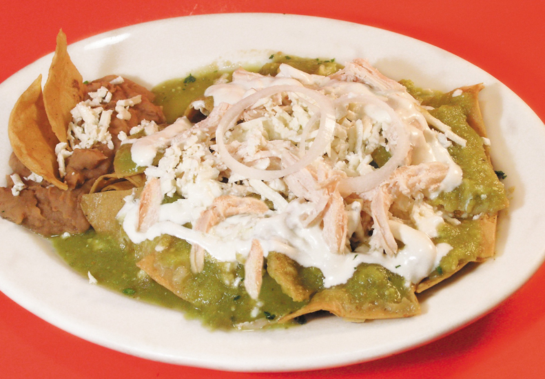 Receta Chilaquiles Verdes con Pollo  TuriMexico