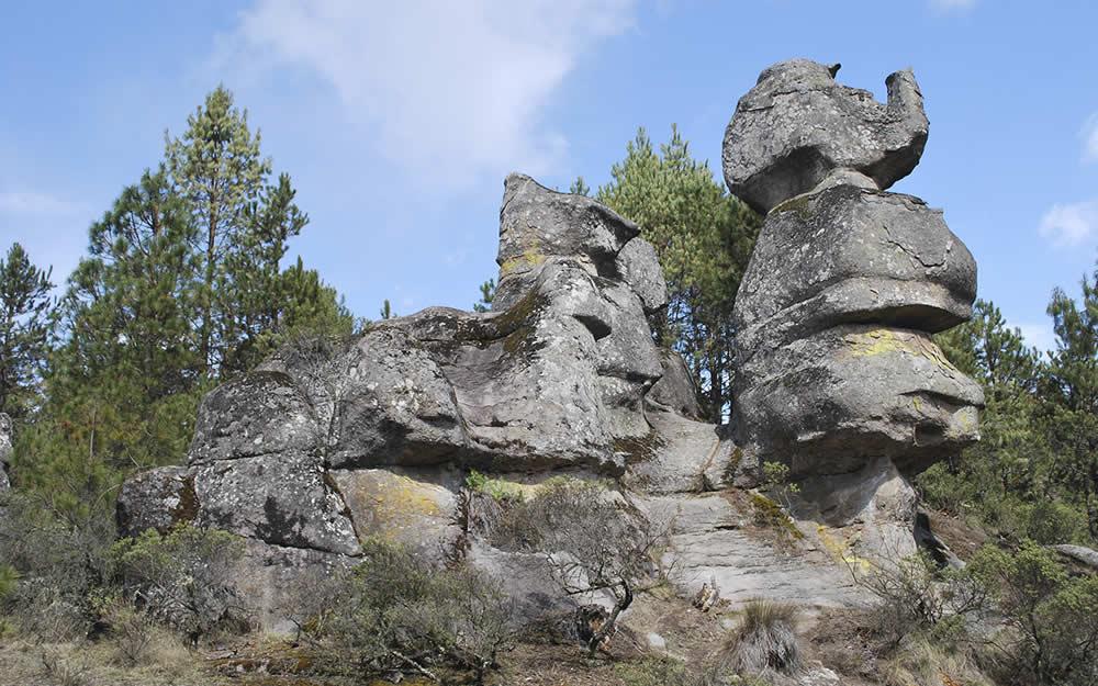 Valle de Piedras Encimadas en Zacatlán, Puebla