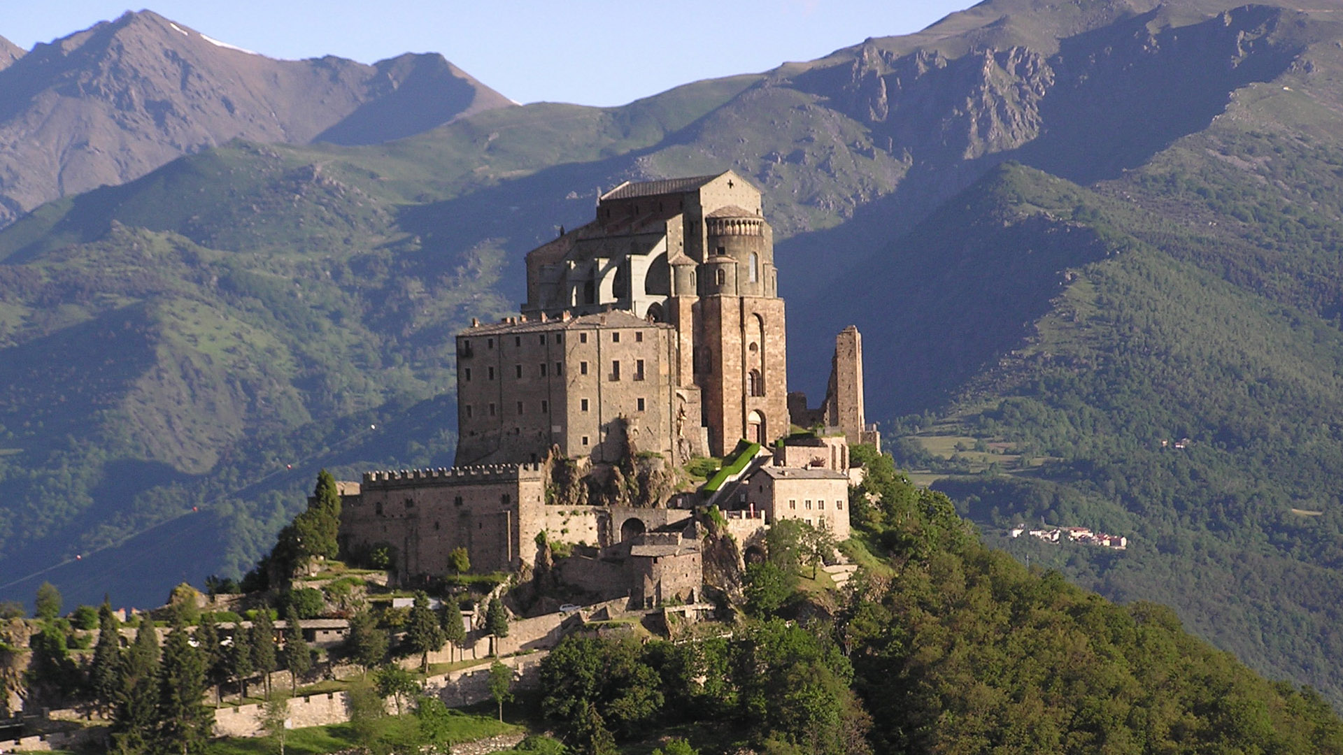 Things to See in Piedmont Italy  Sacra di San Michele