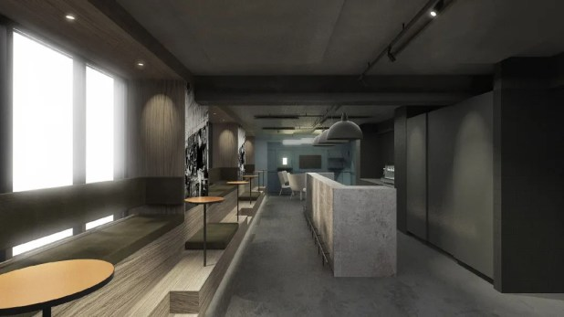 Zleep Hotel Copenhagen City er under renovering. Receptionen og det omkringliggende loungeområde forvandles til et moderne og hyggeligt miljø, hvor gæster kan slappe af, nyde en øl eller arbejde med receptionens summen i baggrunden. (PR-foto: Zleep Hotels)