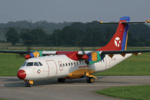 Bornholm nyder godt af forbedrede forbindelser. Blandt andet har Danish Air Transport i 2017 haft succes med en ny flyrute mellem Aalborg og Rønne. (PR-foto: DAT)