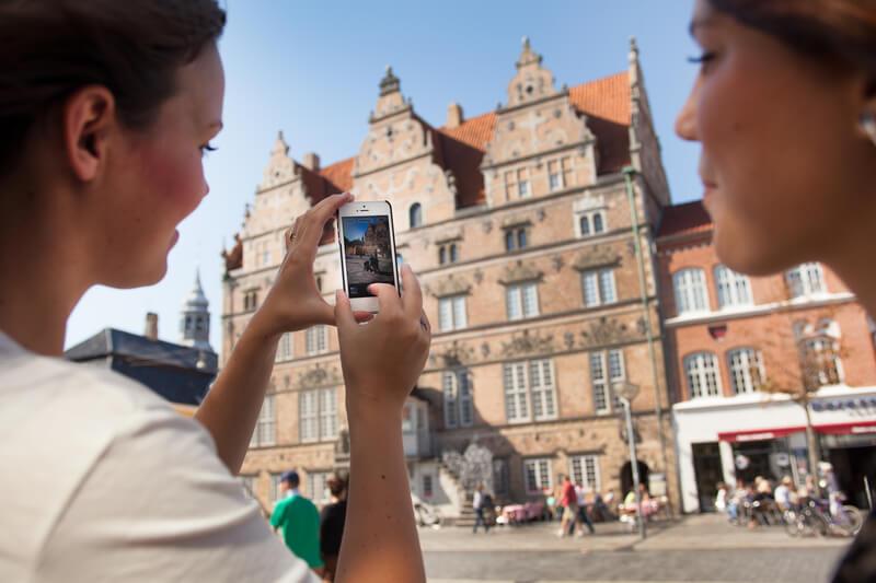 Et nyt udviklingsprojekt i Nordjylland vil udforske big data for at blive klogere på turisterne - og på sigt tiltrække flere. (Foto: Visit Aalborg)