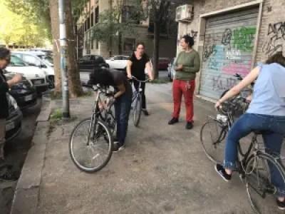 "Min første tur på cykel i Rom, og min første erfaring fra Airbnb's nye tjeneste ""Experiences"""
