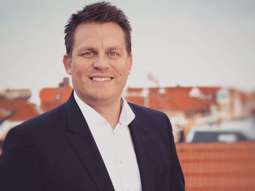 Direktør i Turisthus Nord, René Zeeberg, glæder sig over væksten i turismeomsætningen. (Foto: Turisthus Nord)