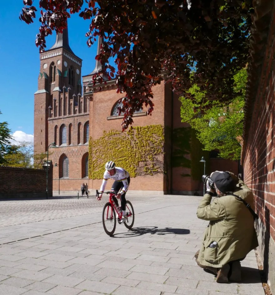 Roskilde Domkirke skal selvfølgelig med i filmen. (PR-foto)