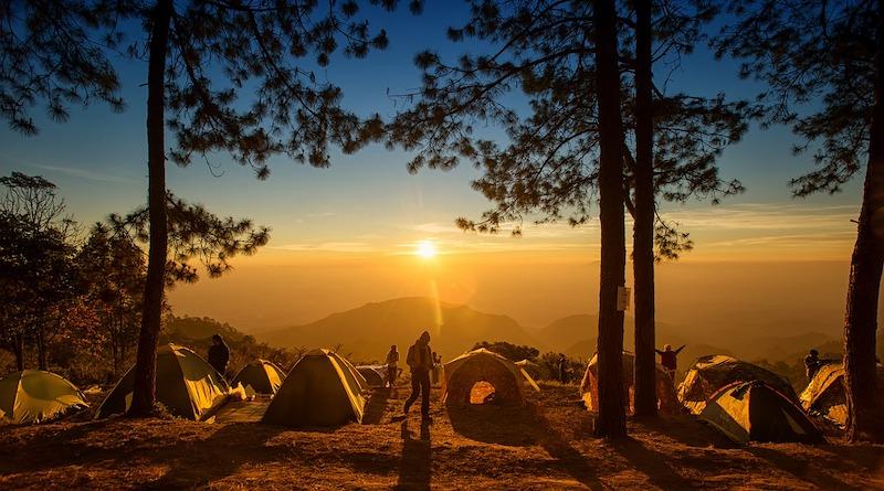 Calabria in tenda