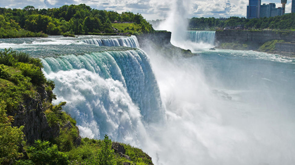 Numa Falls Canada Wallpaper Le Cascate Del Niagara Turismo News