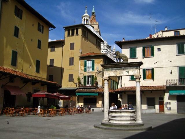 squares of Pistoia