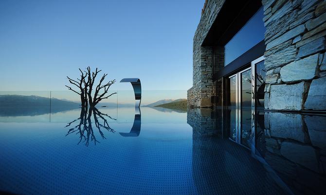 Le pi belle piscine riscaldate immerse nella neve