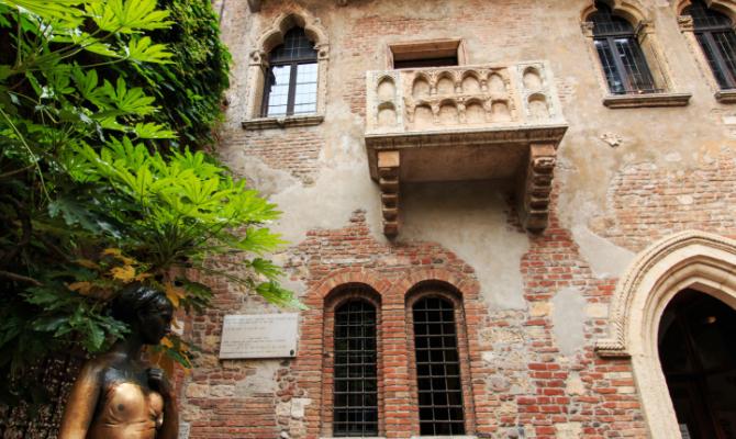 Verona i luoghi storici di Romeo e Giulietta