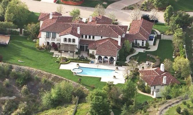 Immagini Casa Justin Bieber