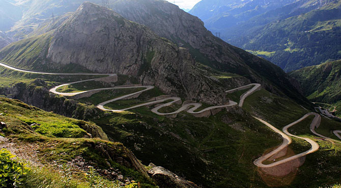 Video Transfagarasan la strada pi bella del mondo  in Romania