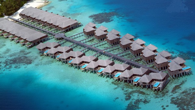 Romantiche Maldive atolli per due