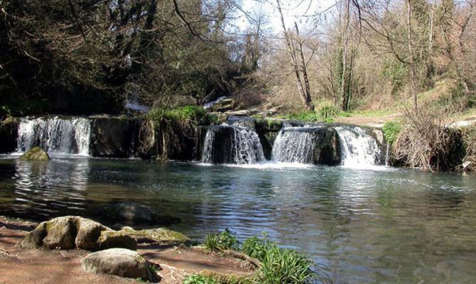 Lazio tra boschi e cascate nel Parco Valle del Trema