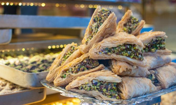 Byrek street food albanese