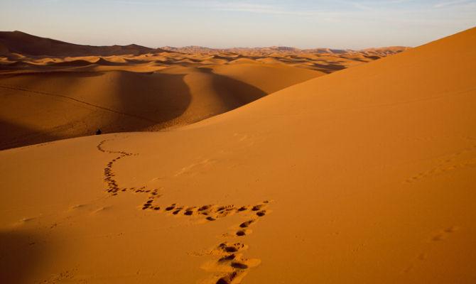 Nel deserto della Mauritania incanti tra le dune