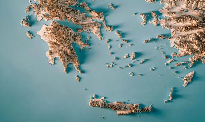 Grecia una piramide alle Cicladi
