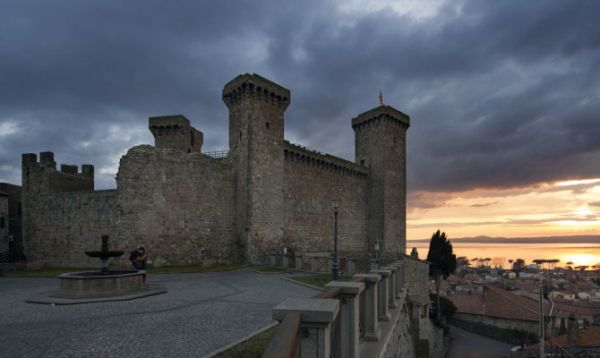 Rocca Monaldeschi della Cervara a Bolsena