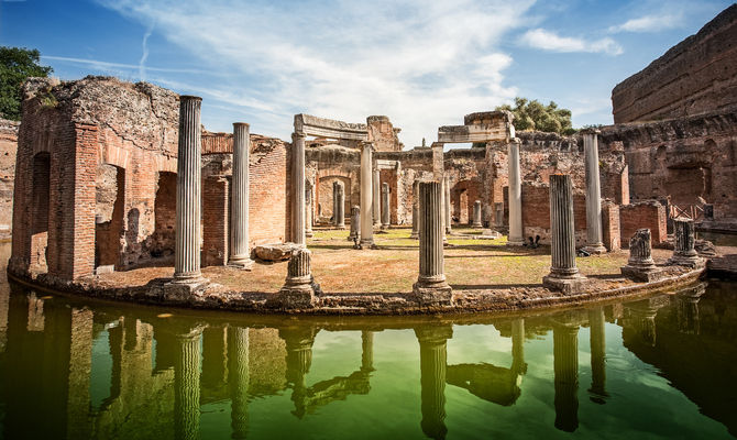 Tivoli il capolavoro Unesco di Villa Adriana