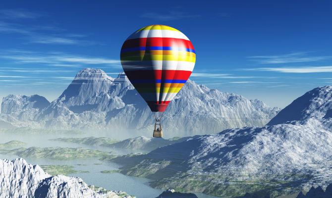 Balloon Festival mongolfiere in festa in Alto Adige