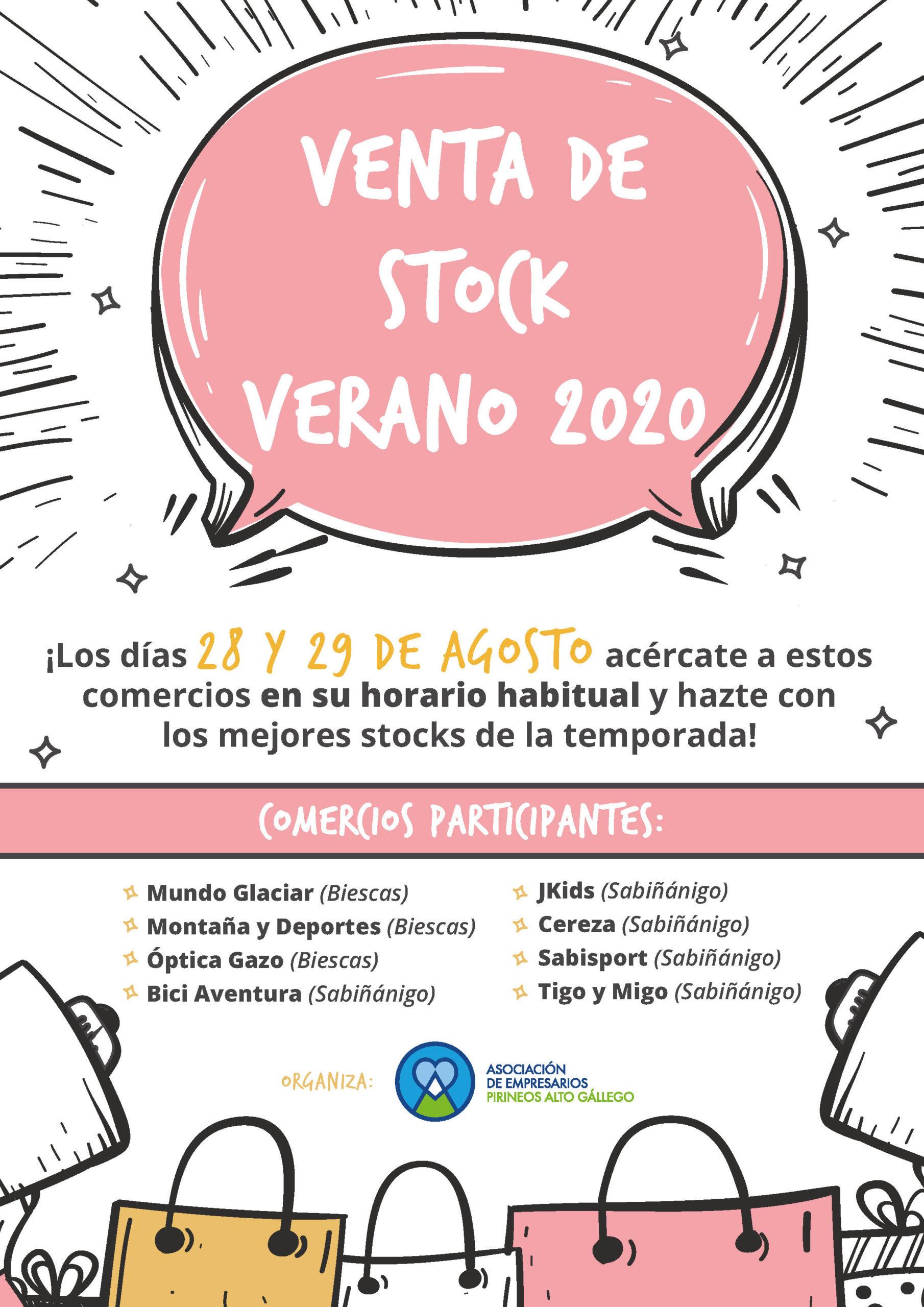 VENTA DE STOCK VERANO 2020