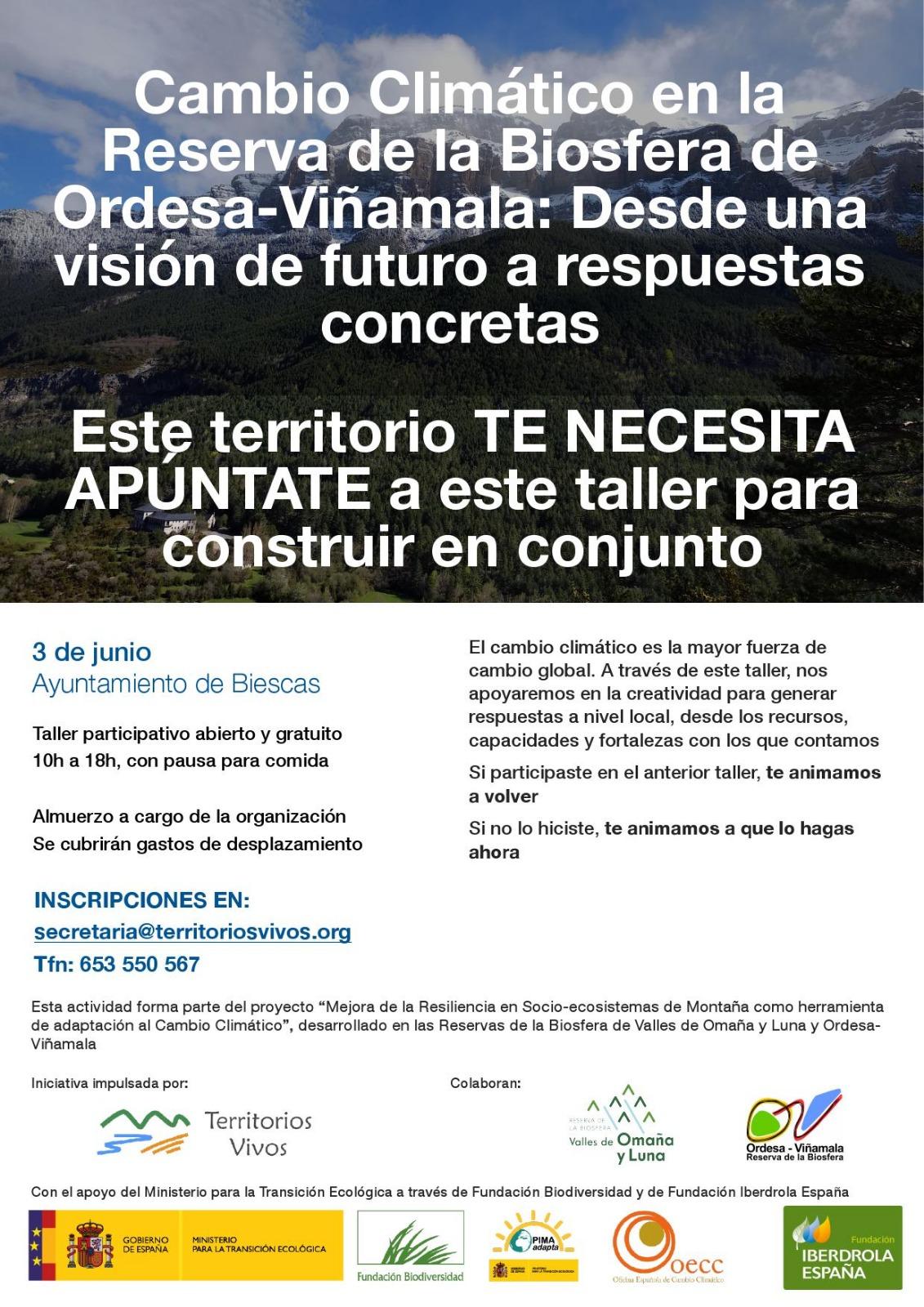 Taller participativo sobre Cambio Climático y Acción Local
