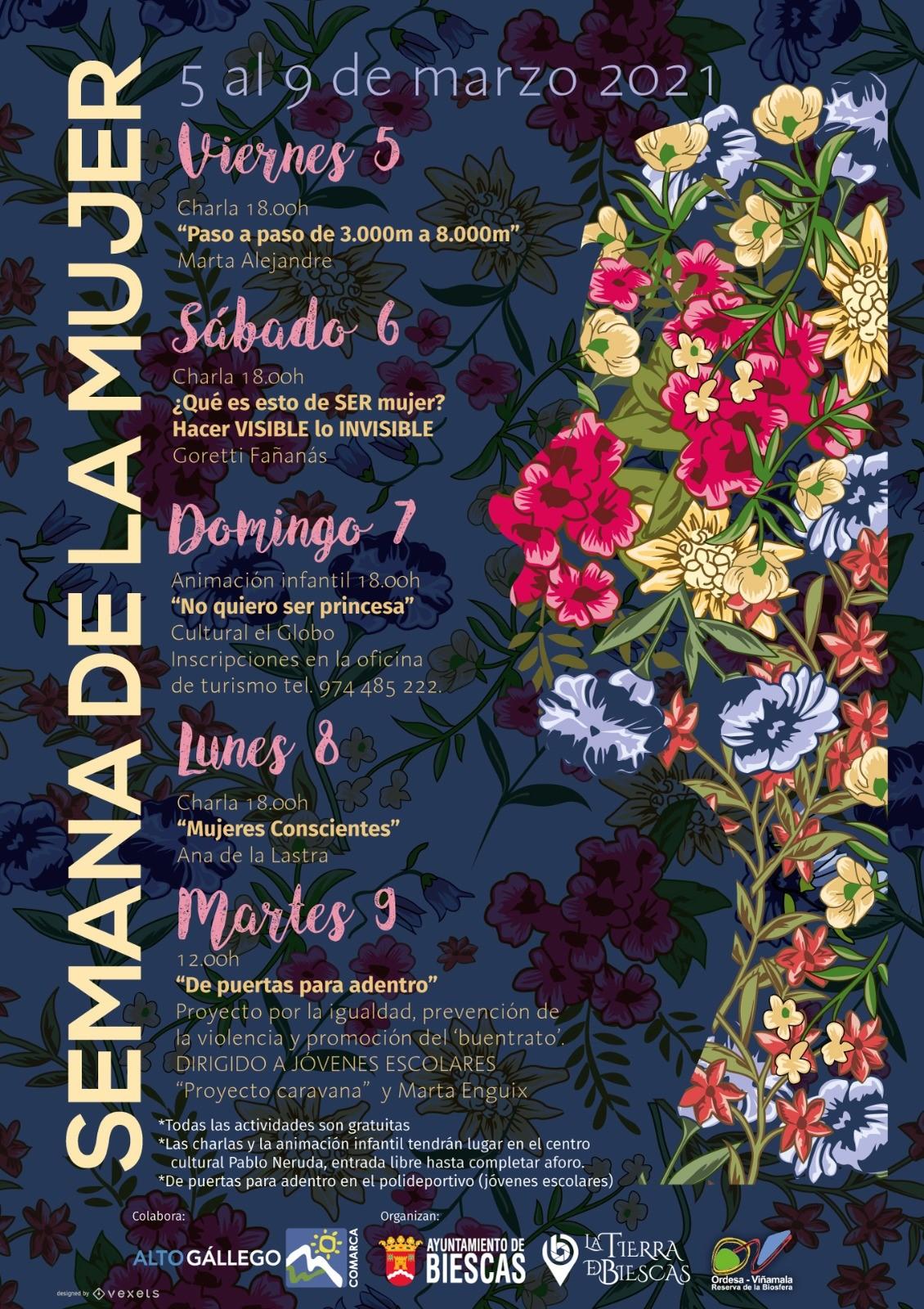 Semana de la Mujer del 5 al 9 de marzo