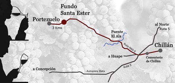 Como llegar al Fundo San Ester