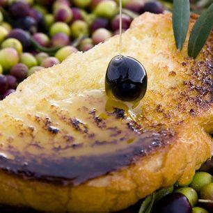 Aceite de Monterrubio de La Serena receta de cachorrenas