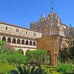 Monasterio de Guadalupe su claustro