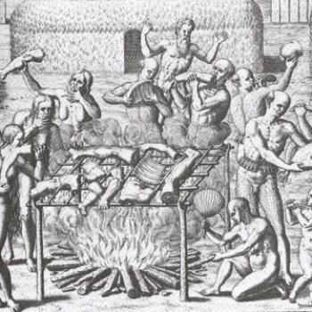 Muerte de Pedro de Valdivia por los mapuches