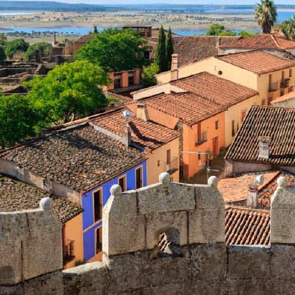 Tierras de Granadilla-embalse de Gabriel y Galán- pueblo abandonado