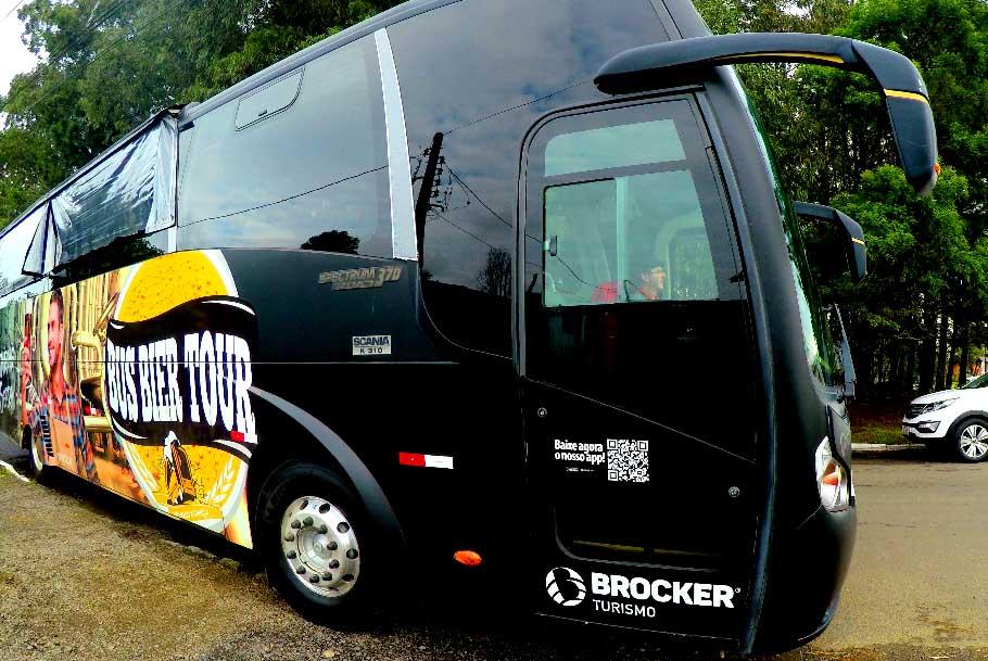 Tour de cerveja em ônibus privado