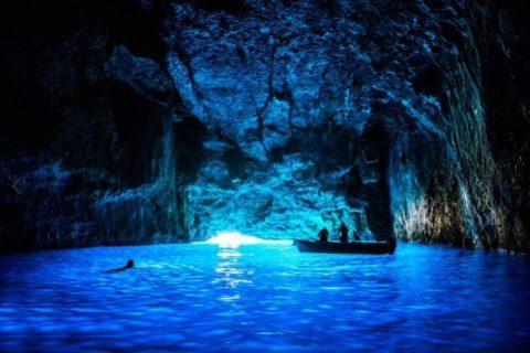 caverna azul kastelorizo
