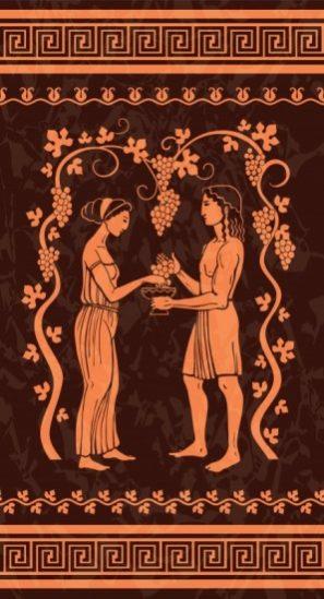 grecia vinho historia