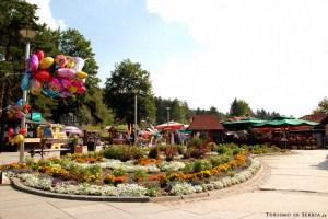 03 - Zlatibor e dintorni - La piazzetta di Zlatibor
