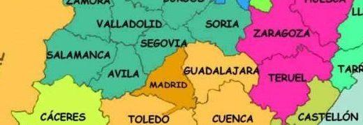 mapa provincias de españa