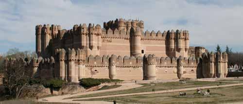 Castillo  de Coca en Segovia 2