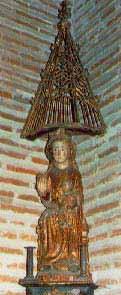 Virgen castillo de coca