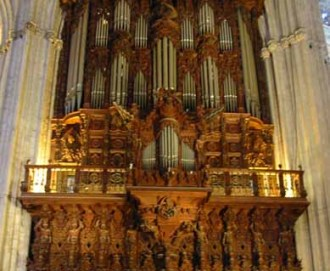 organo catedral sevilla