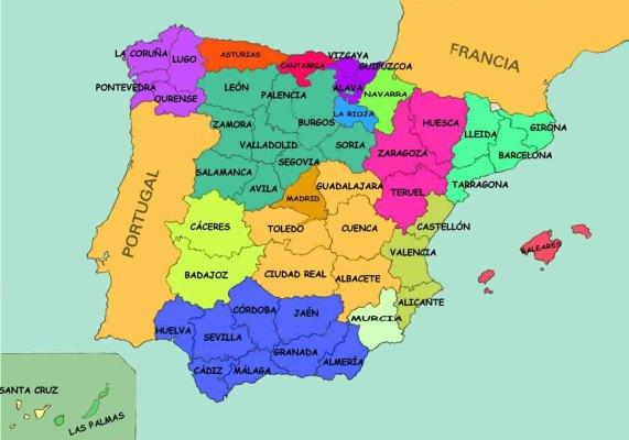 Provincias de España  1
