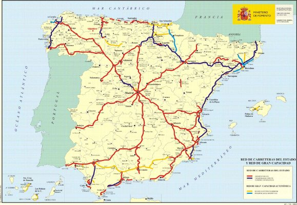 Mapa Carretero de España 2