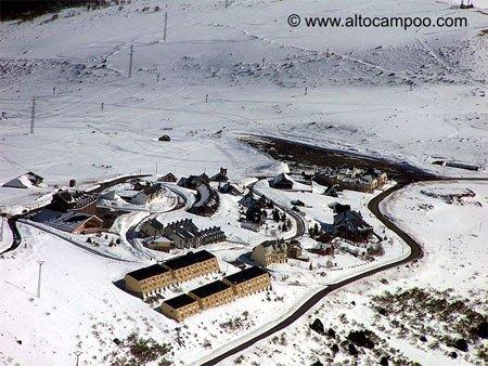La estación de esquí de Alto Campoo inaugura la temporada 2009/10 1