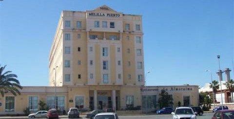 """Hotel """"TRYP Melilla Puerto""""  y Sol Melia"""