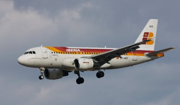Iberia incorpora a su flota un Airbus A-319