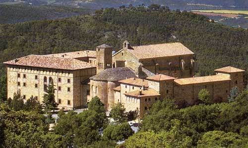 Monasterio de San Salvador de Leire 1