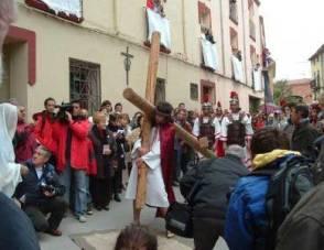 Procesion de Viernes Santo en Navarra