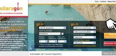 La Central de Reservas de Aragón renueva su portal en internet