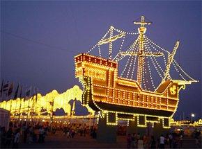 Fiestas Colombinas en Huelva